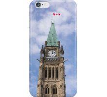 Peace Tower - Centre Block, Ottawa, Canada iPhone Case/Skin