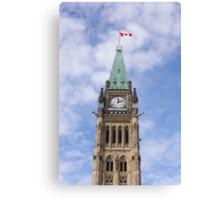 Peace Tower - Centre Block, Ottawa, Canada Canvas Print