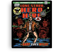 Hero for Hire Canvas Print