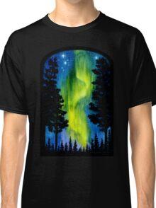 Northern Lights Wave Classic T-Shirt