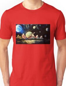 Beyond Earth Space-scape  Unisex T-Shirt