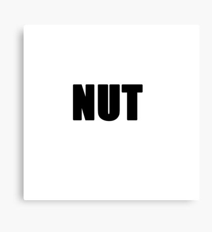 NUT Canvas Print