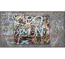 Graffitiwall Cologne Photographic Print
