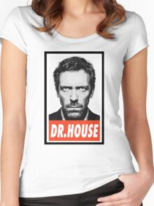 -SERIES- Dr House  Women's Fitted Scoop T-Shirt