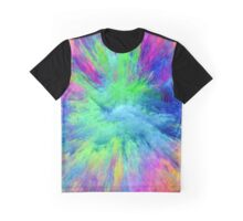 Abstract Glow Graphic T-Shirt