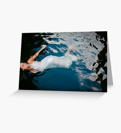 Untitled in water Greeting Card