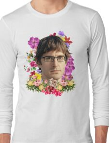Louis Theroux Floral Long Sleeve T-Shirt