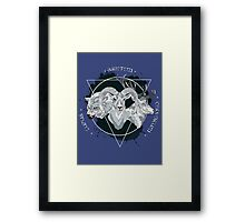 The Wolf The Ram & The Hart Framed Print