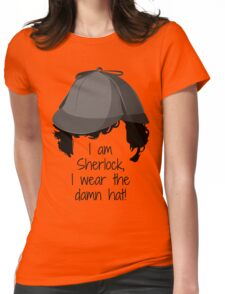 Sherlock Damn Hat Womens Fitted T-Shirt