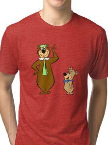 Yogi Bear Tri-blend T-Shirt