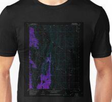 USGS TOPO Map California CA Sites 300516 1958 24000 geo Inverted Unisex T-Shirt