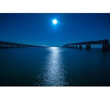 Bahia Honda By The Moonlight 2 Photographic Print