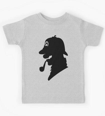Super Mario Holmes Kids Tee