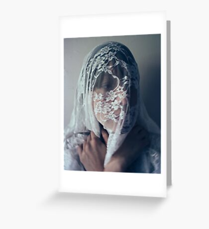 Shrouded Greeting Card