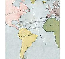 Voyages of Christopher Columbus, 1495-1502 Photographic Print