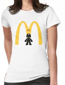 Mario The Founder Womens Fitted T-Shirt