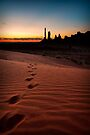 Walk the Walk - Monument Valley, Utah, USA by Sean Farrow