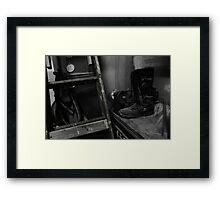 American Garage Framed Print