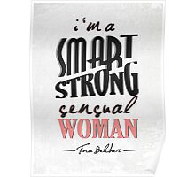 A Smart, Strong, Sensual Woman Poster