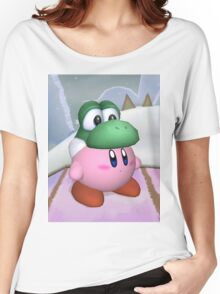 Yoshi and Kirby Women's Relaxed Fit T-Shirt