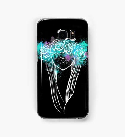 Elegant Mask - Dark Background Samsung Galaxy Case/Skin