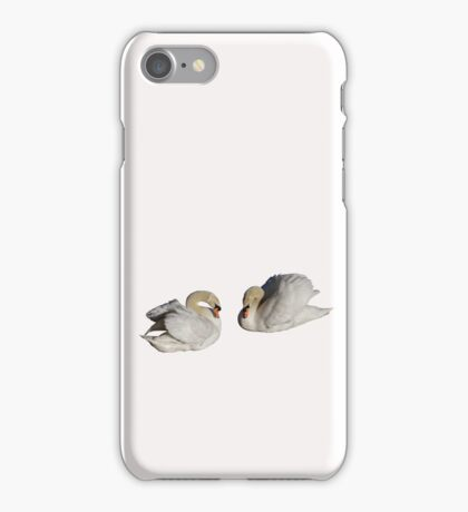 Two Swans iPhone Case/Skin