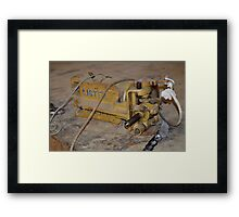Down tools Framed Print