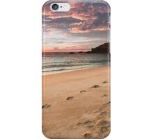 A Stormy Beachside Stroll iPhone Case/Skin