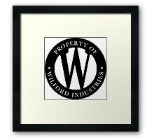 Wilford Industries Framed Print
