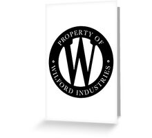 Wilford Industries Greeting Card