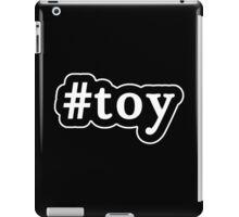 Toy - Hashtag - Black & White iPad Case/Skin