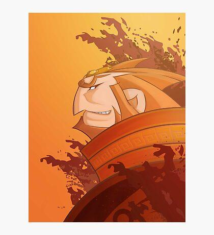 Ganondorf Wind Waker illustration Photographic Print