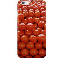 Ripe tomatoes iPhone Case/Skin