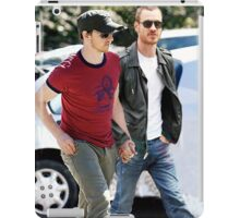 cherik mutant husbands 4 iPad Case/Skin
