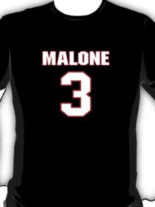 NFL Player Robert Malone three 3 T-Shirt