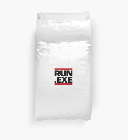 Run.exe Duvet Cover