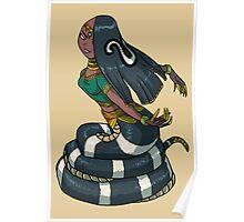 Female Cobra Naga MONSTER GIRLS Series I Poster