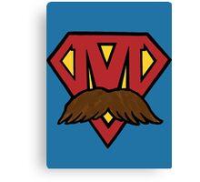 superheroes for men's health Canvas Print
