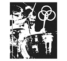 John Bonham Led Zeppelin Photographic Print
