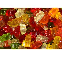 Gummibear Candy Photographic Print