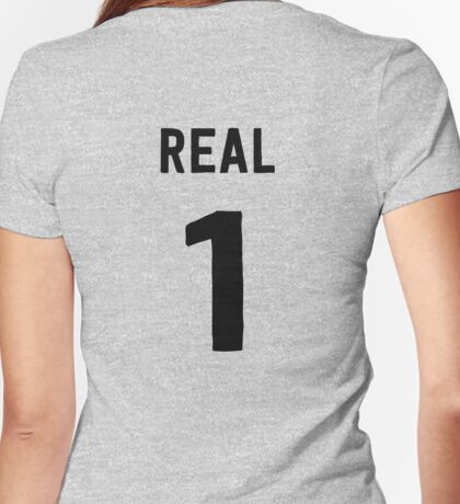 Real 1 Womens Fitted T-Shirt