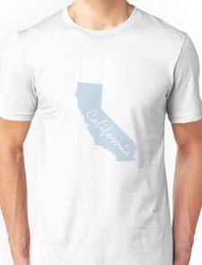 california script blue Unisex T-Shirt