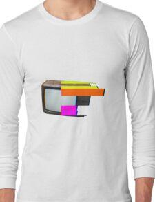 tv glitch Long Sleeve T-Shirt
