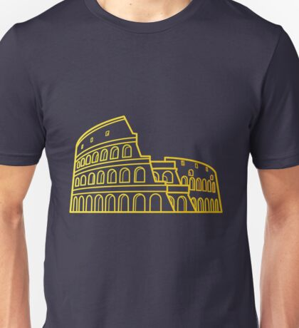 Flat Icon - Colosseum Gradient Unisex T-Shirt