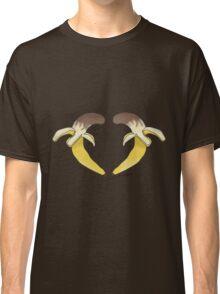 Chocolate Banana Heart Classic T-Shirt