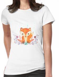 Evergreen Fox Womens Fitted T-Shirt