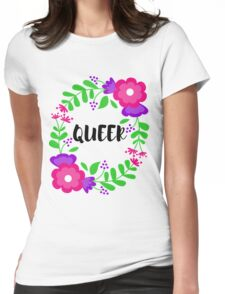 Queer! Womens Fitted T-Shirt