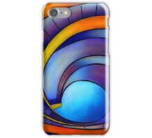 Melanissia - abstract moonrise iPhone Case/Skin