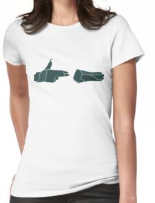 Run The Jewels Green version Womens Fitted T-Shirt