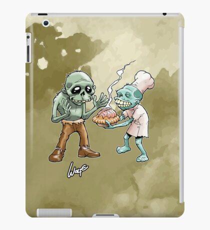 Zombies Share Pie 2 iPad Case/Skin